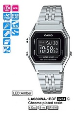 Casio LA680WA-1B (A)