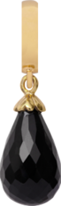 Christina Charms hangers - black onyx drop 610-G01Black