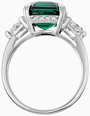 Коктейльное кольцо Swarovski ATTRACT 5512574 55
