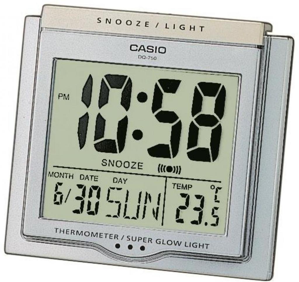 Будильники Casio DQ-750-8ER