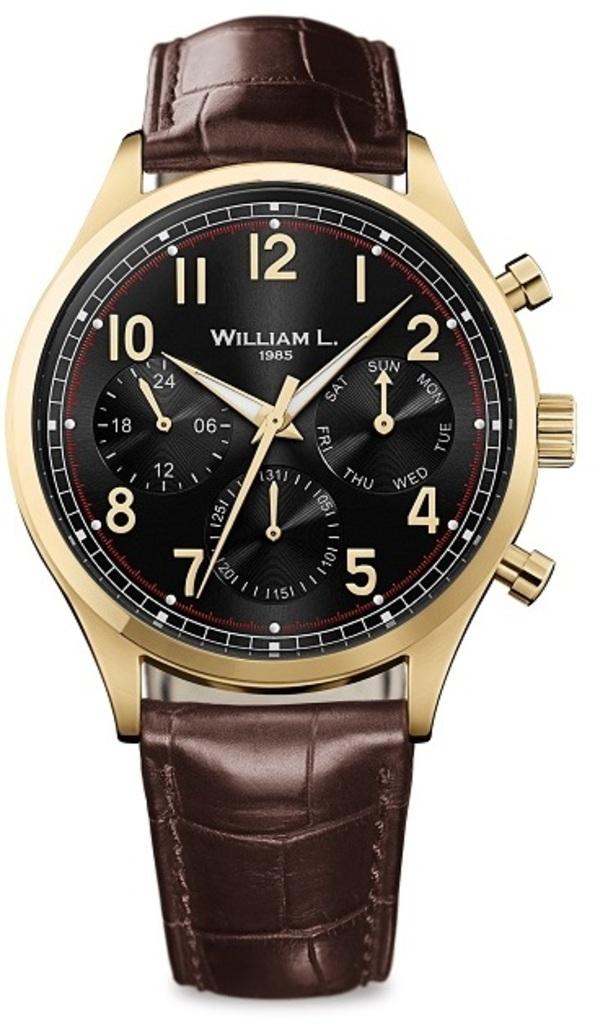 Мужские часы William L. WLOJ03NROJCM