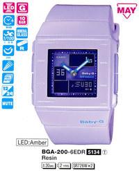Годинник CASIO BGA-200-6EER - Дека