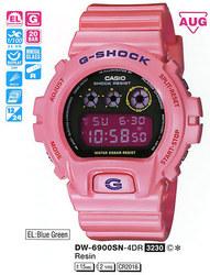 Часы CASIO DW-6900SN-4ER - Дека
