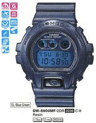 Часы CASIO DW-6900MF-2ER - Дека