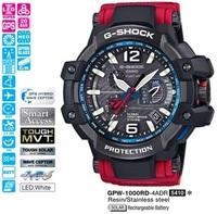 Часы CASIO GPW-1000RD-4AER - Дека