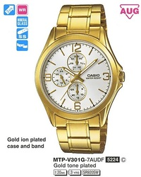Часы CASIO MTP-V301G-7AUDF - Дека