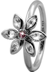 Кольцо CC 800-3.6.A/51 Marquise Flower silver  - Дека