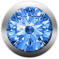 Камень CHRISTINA 146 сапфир синий - Дека