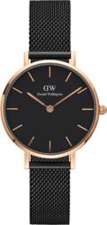 Часы Daniel Wellington DW00100245 Petite Ashfield RG Black RG 28 - Дека