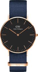 Часы Daniel Wellington DW00100281 Classic 36 Bayswater RG Black - Дека