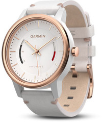 Смарт-часы Garmin Vívomove Classic, Rose Gold-Tone with Leather Band - ДЕКА